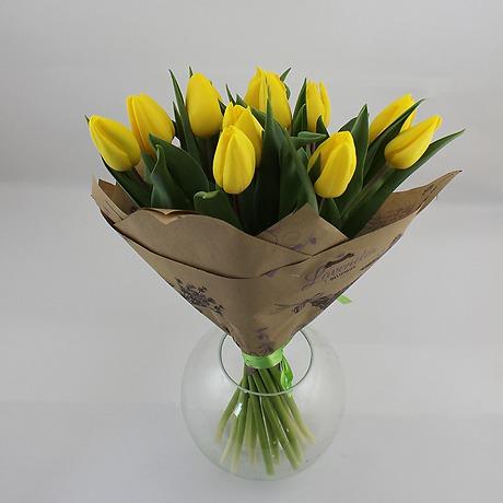 Тюльпаны цена за букетом
